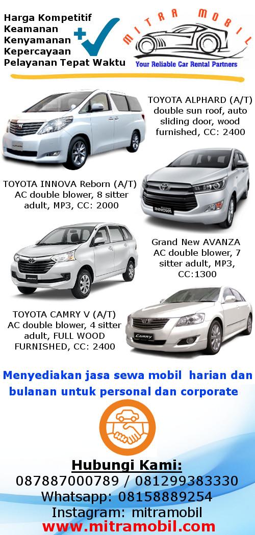 Mitra Mobil Car Rental Jakarta